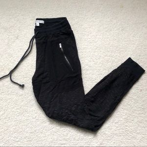 Black Abercrombie and Fitch Joggers